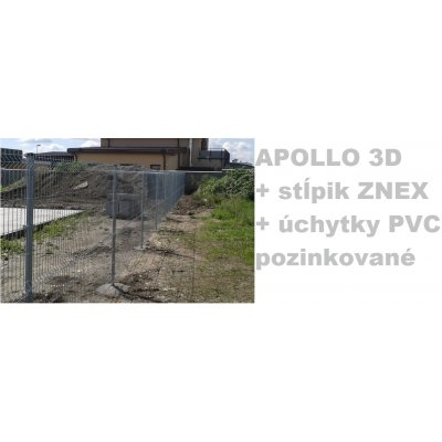 Set Pozink APOLLO so stĺpikmi ZNEX 48mm a úchytkami PVC48mm