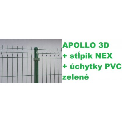 Set 203cm APOLLO + NEX + PVC Zelený