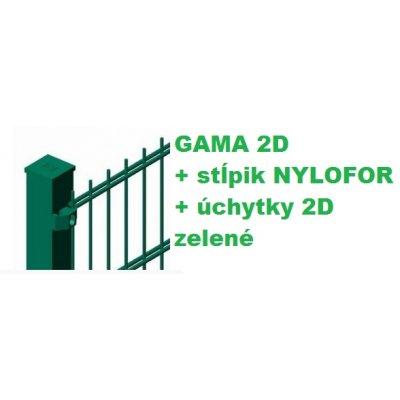 Set Zelený GAMA + QUATRO + 2D