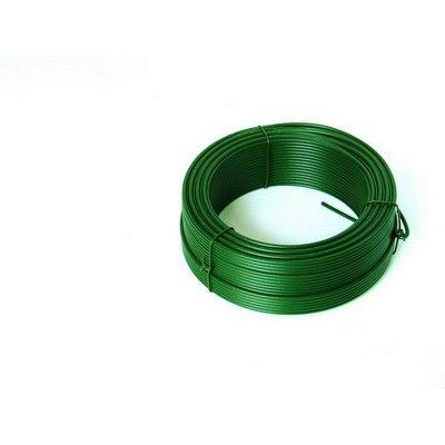 50m Viazací drôt zelený 2mm