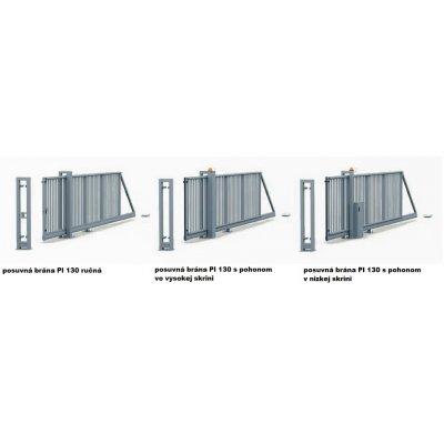 140-240cm Posuvná brána PI 130 600-900cm