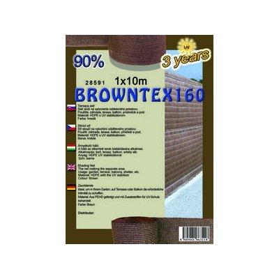 BROWNTEX 100cm Tieniaca sieť 90% (10m)