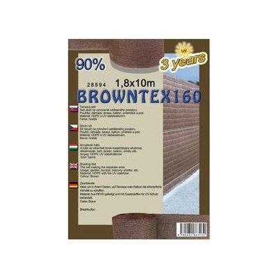 BROWNTEX 180cm Tieniaca sieť 90% (10m)