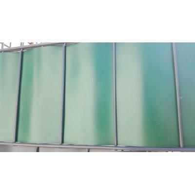 Zelená thin krycia páska k plotovým panelom