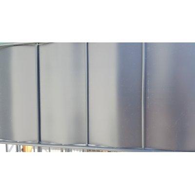Antracit thin krycia páska k plotovým panelom