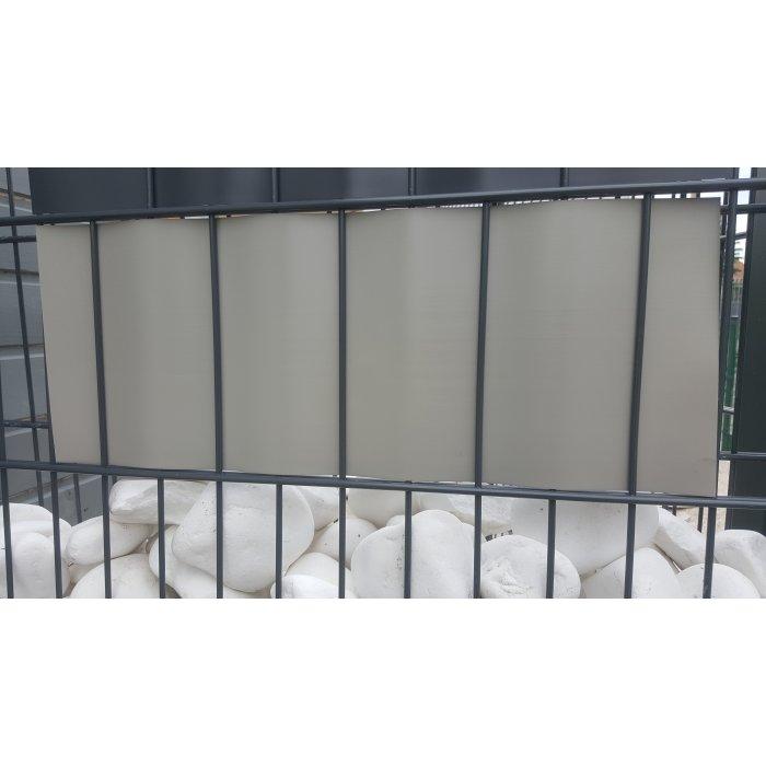 Sivá thin krycia páska k plotovým panelom