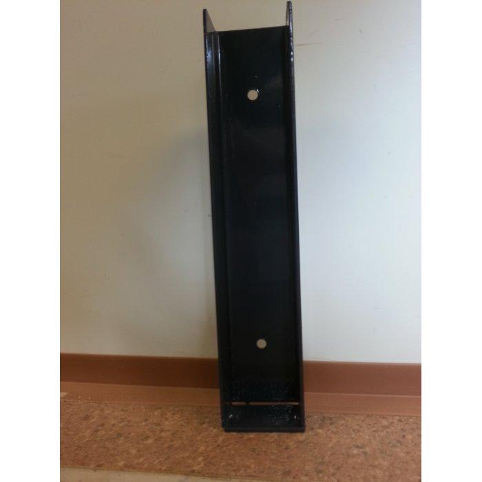 Polovičný držiak podhrabovej dosky 30cm antracit