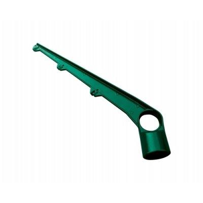 Bavolet na stĺpik 60mm zelený