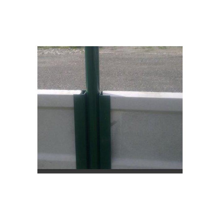 Polovičný držiak podhrabovej dosky 30cm zelený