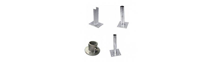 Pätky na uchytenie stĺpikov k betonovej podlahe