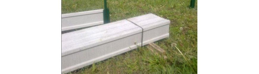Betónové dosky pod pletivá a plotové panely