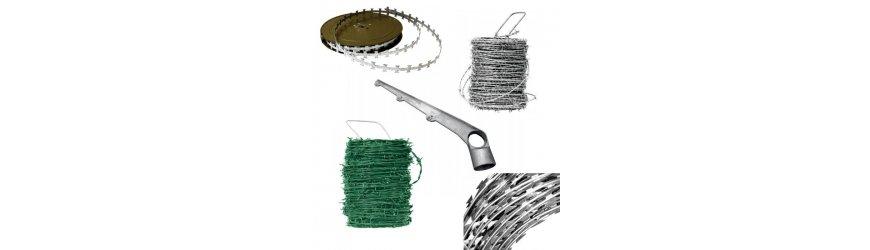Ostnaté a žiletkové drôty