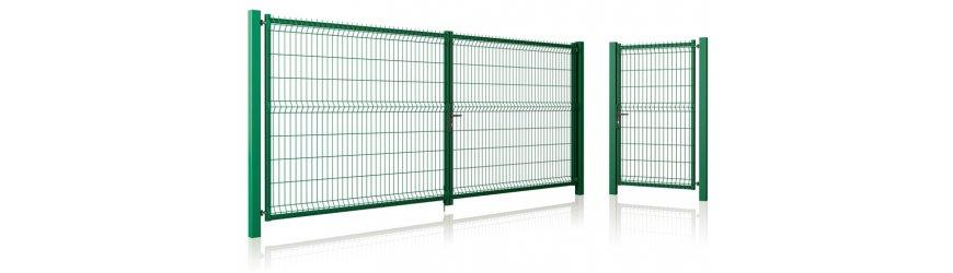 MODEST s výplňou plotový panel CLASSIC - NYLOFOR 3D