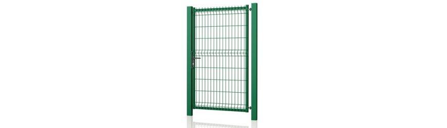 Modest Zelené jednokrídlové bránky