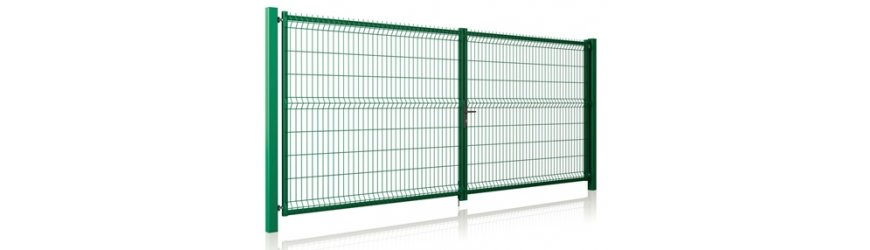 Modest Zelené dvojkrídlové brány na FAB