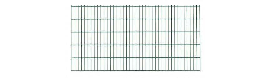 Zelený Plotový panel Gama 2D