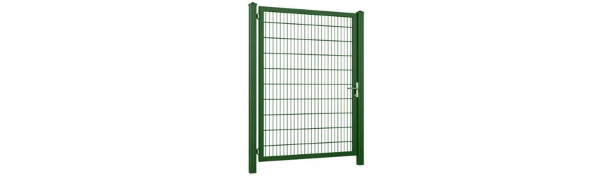 Gardia Zelené jednokrídlové bránky