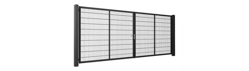 Gardia Antracit dvojkrídlové brány