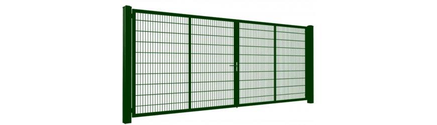 Gardia Zelené dvojkrídlové brány