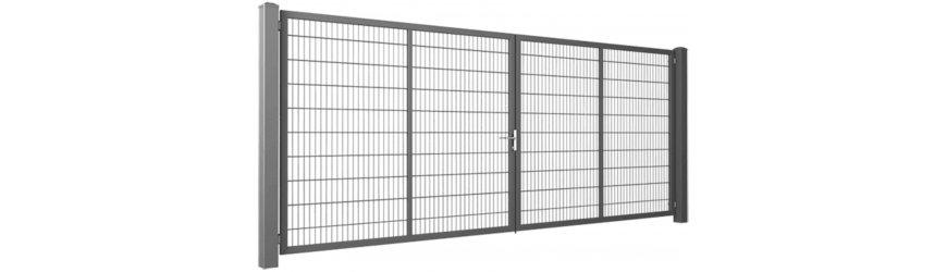 Gardia Pozinkované dvojkrídlové brány