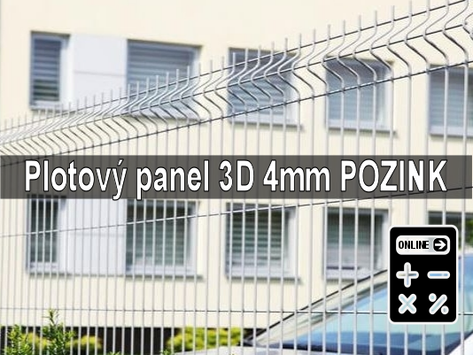 Online kalkulator plotový panel apollo 3d pozink