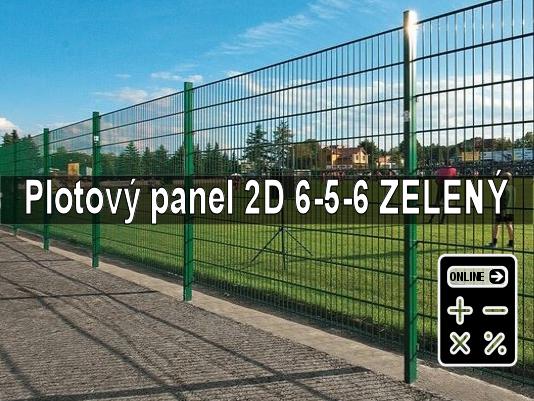 Online kalkulator plotový panel 2d zeleny gama