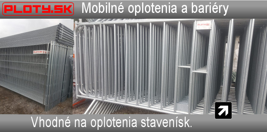 Mobilné oplotenie a bariéry